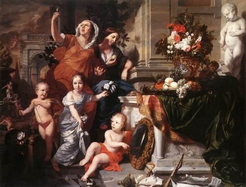 1668_Gérard_de_Lairesse_-_Allegory_of_the_Five_Senses