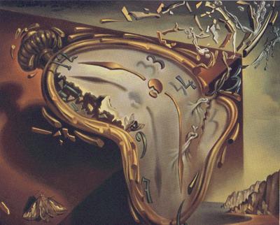 Salvadore Dali's Liquid Clock