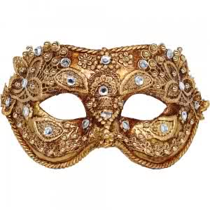 venetian-mask-colombina-macrame-gold