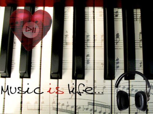 Music_is_life_by_EvilAuthoressK_chan