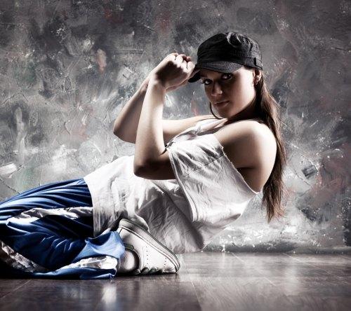 sexy hip hop dancer