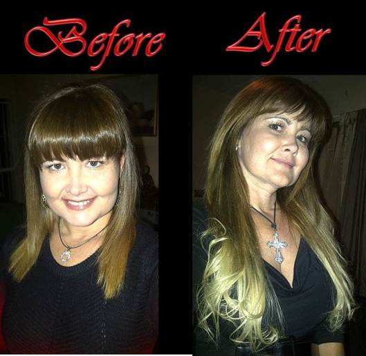 Hair Before After