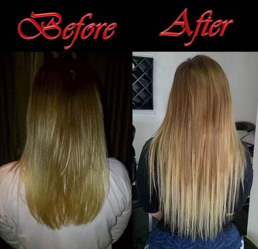 Hair Before Back