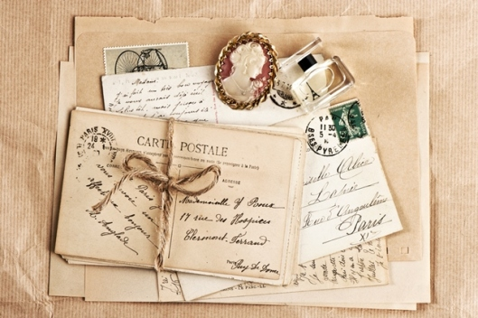 vintage letters 1