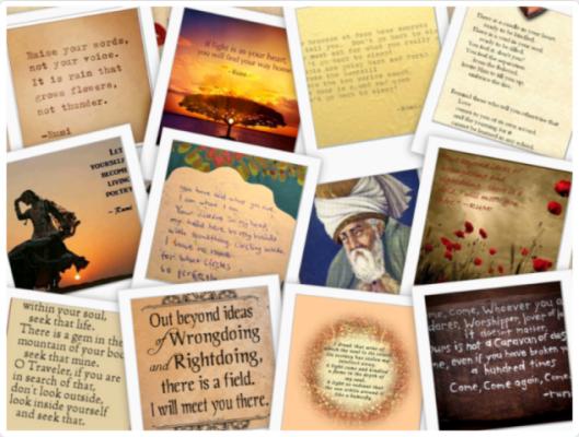 3 Things Rumi