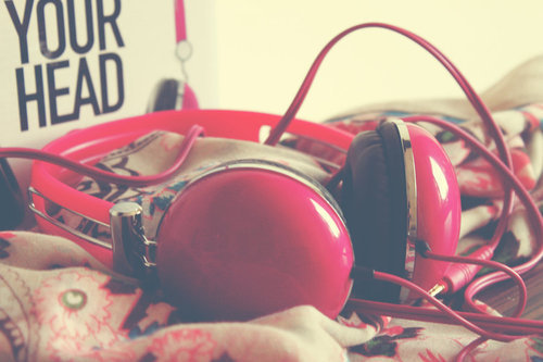 Listening To Music Headphones Tumblr
